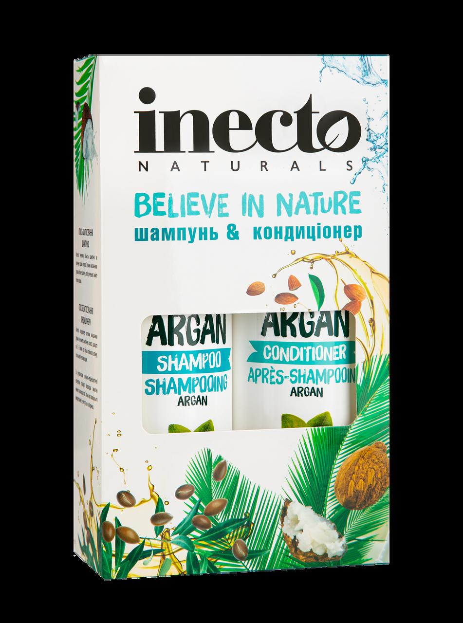 Набор Шампунь + Кондиционер с аргановым маслом INECTO ARGANA (500+500 мл)