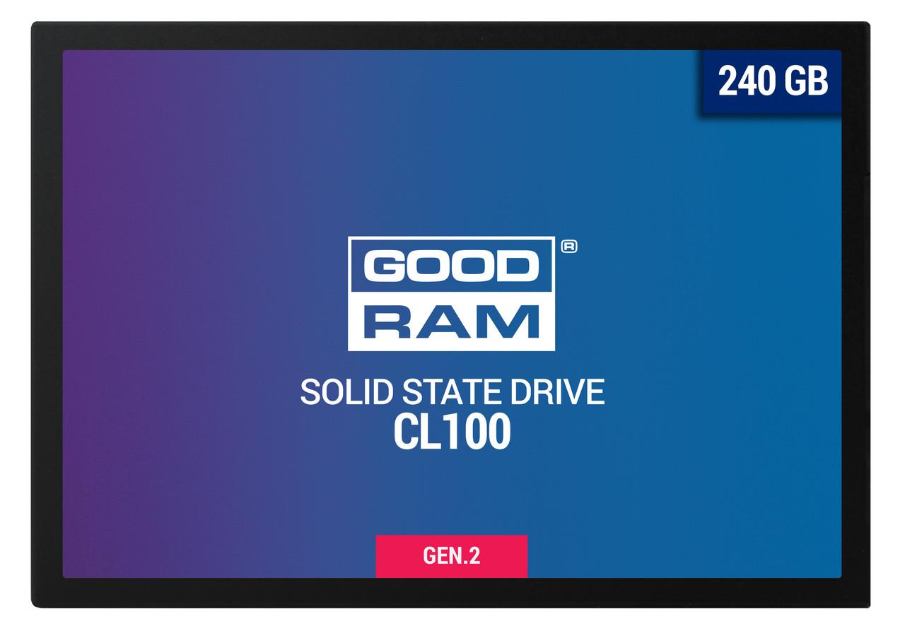 """Накопитель SSD 2.5"""" 240GB GOODRAM (SSDPR-CL100-240-G2), Гарантия 36мес"""
