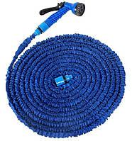 Шланг Magic Hose 30m 100FT steel, садовый шланг Magic, шланг для полива x hose 30м, поливочный шланг икс хоз