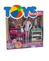 Кукла «Детский доктор» с аксессуарами, JX200-3637