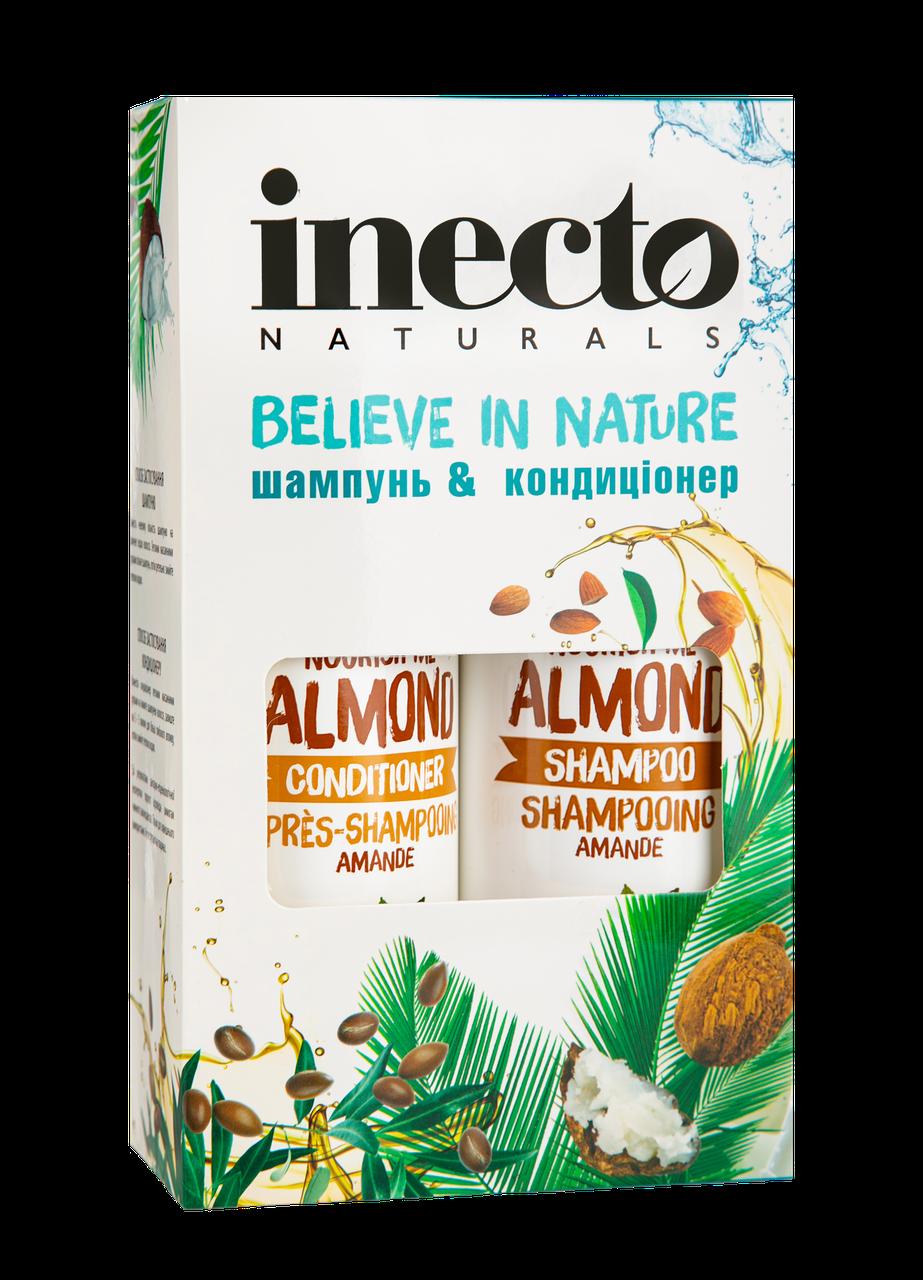 Набор Шампунь + Кондиционер с маслом миндаля INECTO ALMOND (500+500 мл)