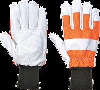 Перчатки для защиты от цепной пилы Portwest (Класс 0) A290 Оранжевый, L
