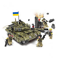 Конструктор Танк Оплот Украинской армии 1386 деталей