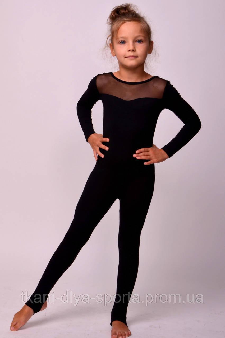 Комбинезон под пятку для хореографии, гимнастики и балета