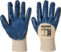 Лёгкие нитриловые перчатки Portwest A330 Темно-синий, L, фото 1