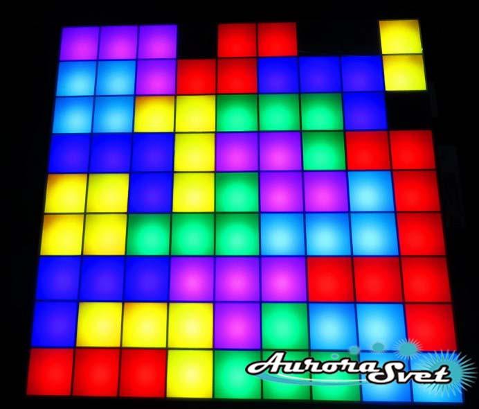 Світлодіодна піксельна настінна панель W-111-9*9-1