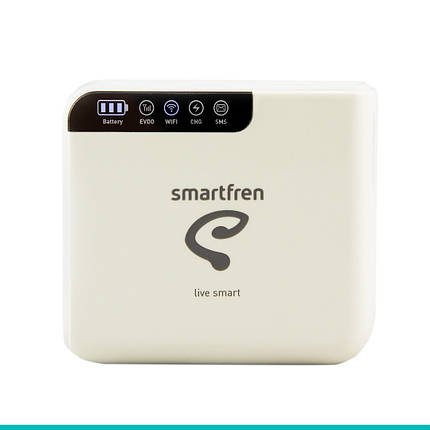 3G CDMA Wi-Fi роутер Haier Smartfren Connex M1 (Rev. B + Power Bank) (Интертелеком) Б/У, фото 2