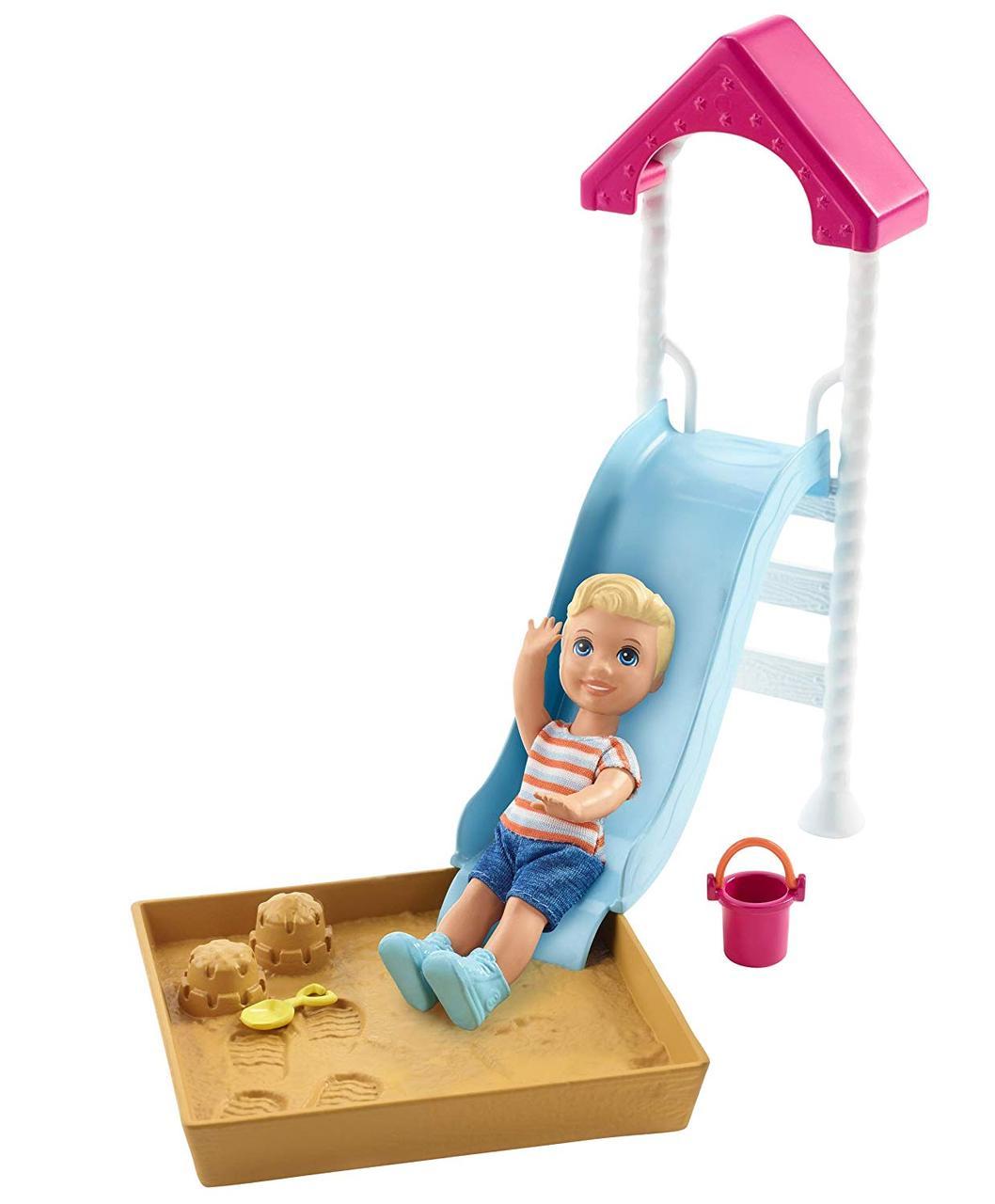 Лялька Барбі Скіппер Дитячий майданчик Barbie Skipper Babysitters Inc. Playground Playset