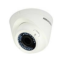 Купольна Turbo HD відеокамера Hikvision DS-2CE56D1T-VFIR3 (2.8-12)