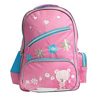Рюкзак Bear, розовый OLLI (OL-1514-1)