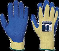 Латексные перчатки Portwest Cut 3 A610 Желтый/Синий, L