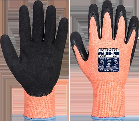 Заказывайте Нитриловые перчатки Vis-Tex Winter HR Cut A646 по ...