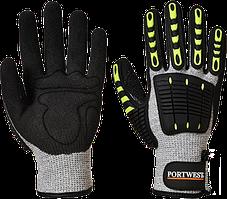 Ударопрочные перчатки с защитой от порезов A722
