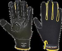 Высокоэффективные перчатки Portwest Supergrip A730 Черный, L, фото 1