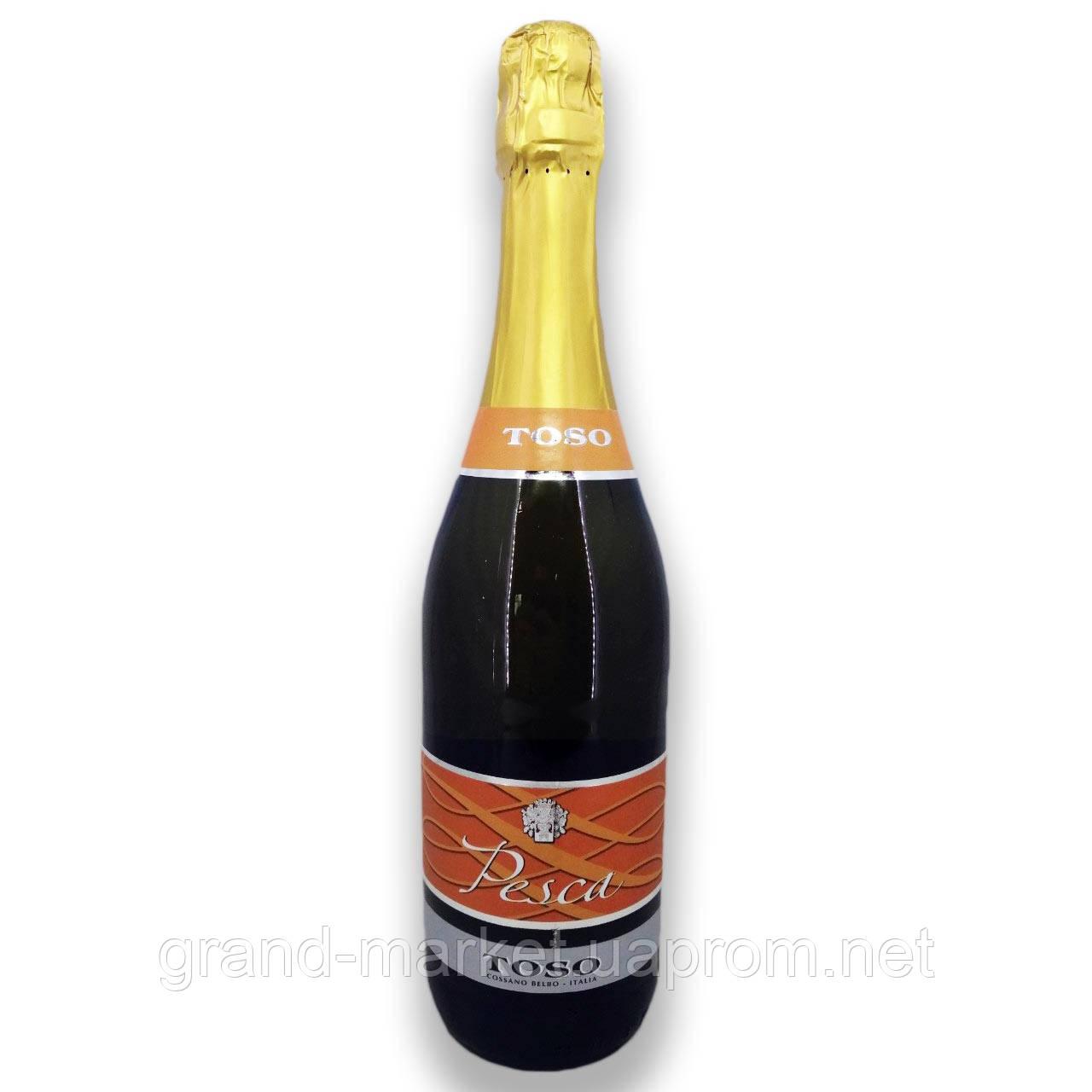 "Вино ігристе ""Fragolino Toso Pesca"" 0.75 l"