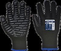 Антивибрационные перчатки Portwest A790 Черный, L, фото 1