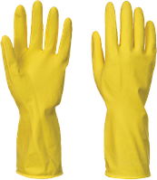 Рукавицы Portwest ПВХ A800 Желтый, L