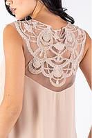Шикарное розовое шифоновое длинное вечернее платье