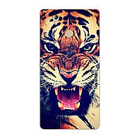 Чехол с рисунком Printed Silicone для Oukitel U7 Plus Тигр