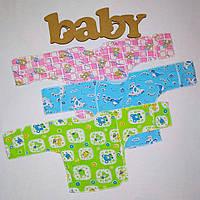 Распашонка для новорожденных Кулир | Льоля для новонароджених Кулір