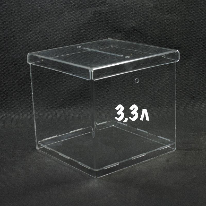 Ящик для пожертвований 150/150/150мм 3,3 литра