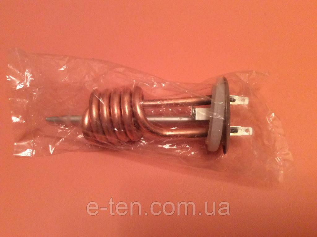 Тэн медный спиралевидный для бойлеров Thermex 2000W (на фланце Ø63мм) с прокладкой      Китай