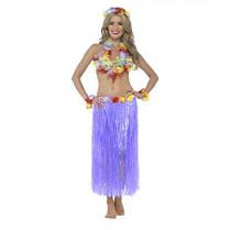 Карнавальный костюм Гавайский (фиолетовый)