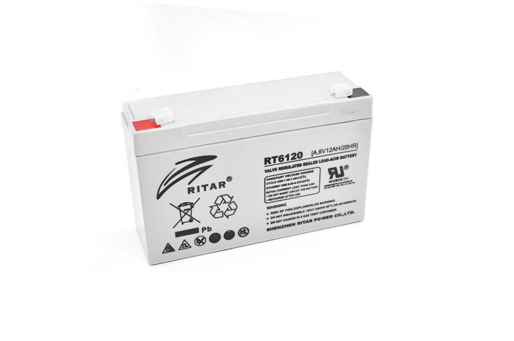Акумулятор Ritar RTR6120