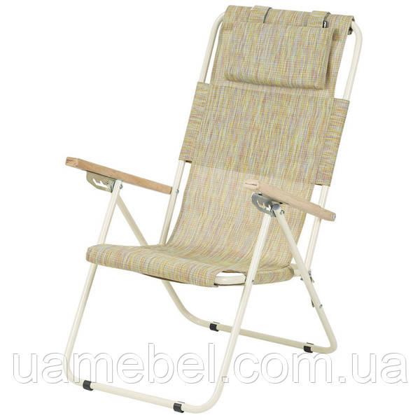 Кресло-шезлонг «Ясень», Ø 20мм (текстилен оранжевый) 2110018