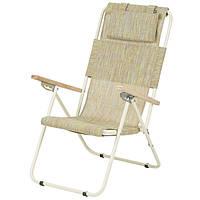 Кресло-шезлонг «Ясень», Ø 20мм (текстилен оранжевый) 2110018, фото 1