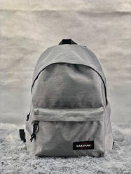 Рюкзак с отделением для ноутбука EASTPAK светло-серый топ-реплика