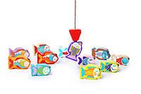 Деревянная развивающая игрушка Рыбалка CUBIKA (Дерев'яна іграшка риболовля)