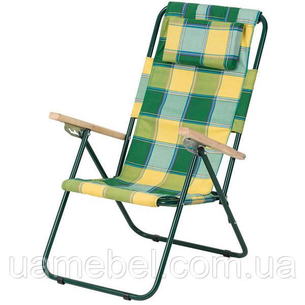 Кресло-шезлонг «Ясень»,  Ø 20 мм (бязь клетка Релакс) 2110014