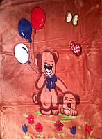 """Детское одеяло """"Мишка с шариками"""", фото 1"""