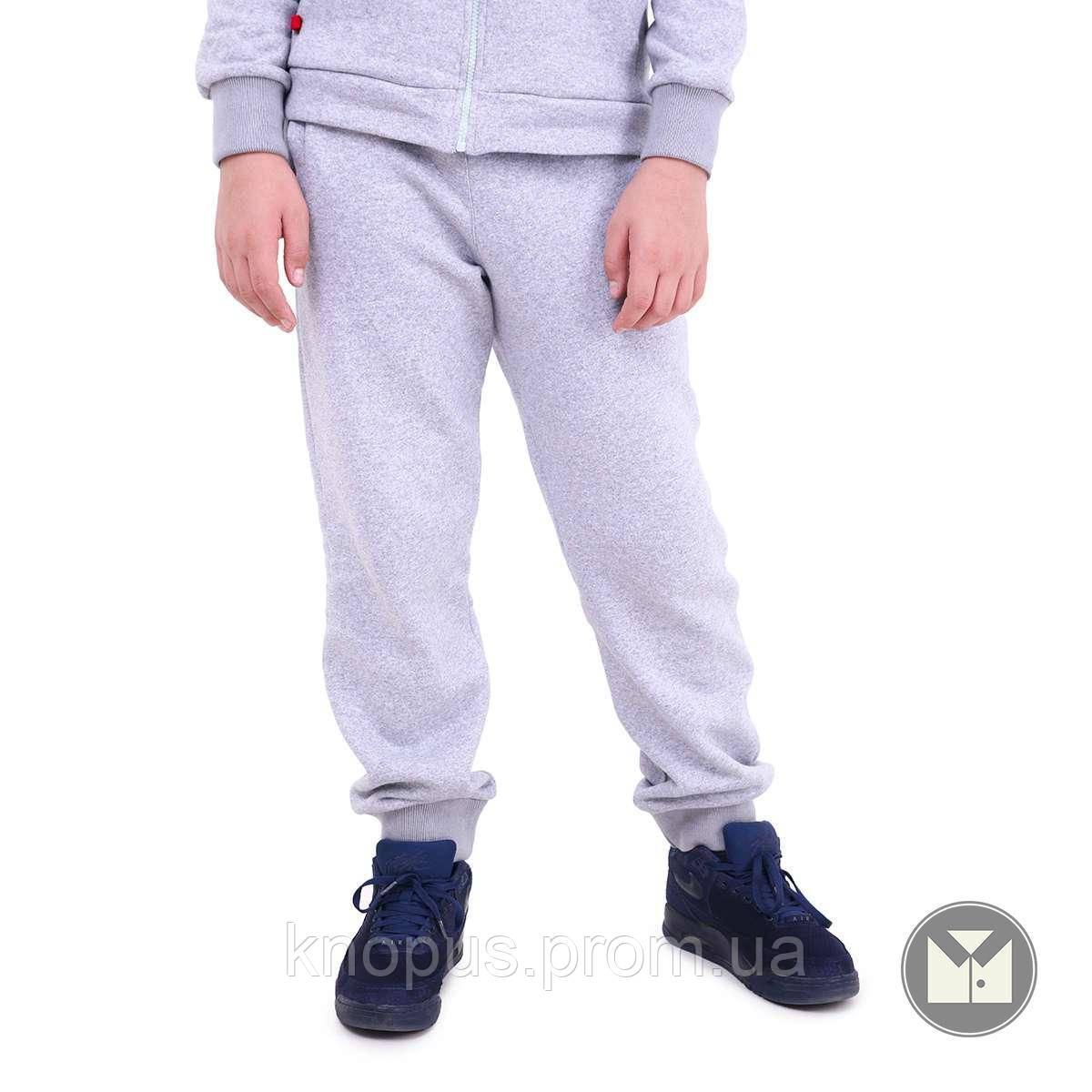 Спортивные штаны  для мальчикаи светло-серые, размеры 128-152, Тимбо