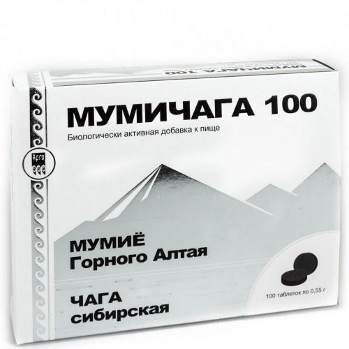 Мумичага Арго чага и мумие (заживления ран, язв, ожогов, при травмах опорно-двигательного аппарата, перелом)