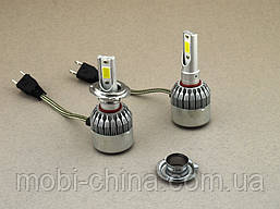 LED C6++ H7 COB 5500LM, светодиодные автомобильные лампы основного света, фото 3