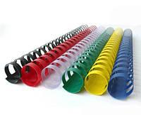 Пружины пластиковые bindMARK 6 мм (10-20 листов) 100 шт красные