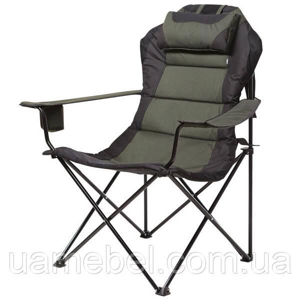 Кресло «Мастер Карп», Ø 16мм (зеленый меланж) 5980