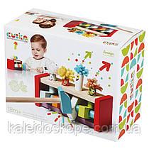 Деревянная развивающая игрушка Клоуны - Попрыгунчики CUBIKA (Дерев'яна іграшка Клоуни - Стрибунці)