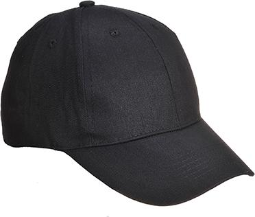 6-сегментная бейсбольная кепка B010 Чёрный