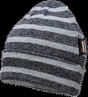 Полосатая теплоизоляционная трикотажная шапка с подкладкой Insulatex B024