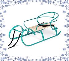 Санки «Снегирь» (бирюза)