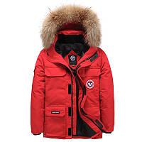 Мужская зимняя куртка АЛЯСКА ПУХОВИК. Очень тёплая! 3 цвета! Размеры 44-50