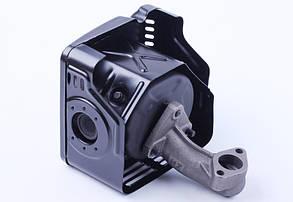Глушитель с коленом - 177F