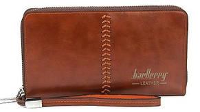 Мужской кошелек-клатч Baellerry Leatherкоричневый