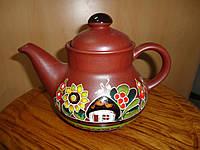 Чайник глиняный, фото 1