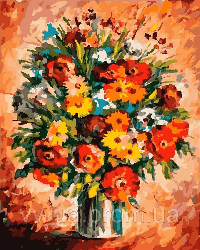 Картина по номерам Яркое настроение, 40x50 см, подарочная упаковка, Идейка