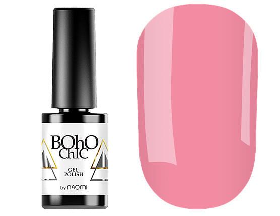 Гель-лак для ногтей Naomi Boho Chic №BC116 Плотный розовый (эмаль) 6 мл