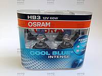 Лампа галогенная OSRAM 9005CBI-DUO COOL BLUE INTENSE (HB3 60W 12V P20d).